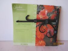 HEAVY FORGED HANGING BRACKET - NEW - GARDEN TREASURES #114076 - FREE SHIPPING