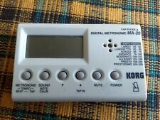 Korg Ma-20 digital metronome and tuner with box working