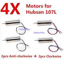 4X Motor Hubsan X4 H107 H107L Motor Quadcopter Engine Parts RC drone 7mm motor