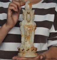 Blanc De Chine Chinese Porcelain Statue Guanyin Kwanyin