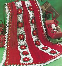 Crochet Christmas Afghan Products For Sale Ebay