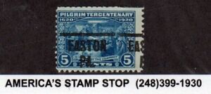 1920 US SC 550 Pilgrim Tercentenary Used Precancel, Easton PA