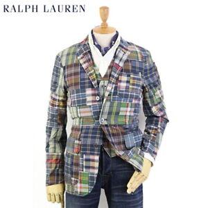 Polo Ralph Lauren Patchwork Suit Jacket Blazer - Multicolor