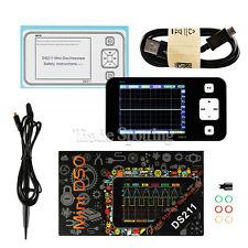 US Ship Mini DS211 ARM DSO Digital Oscilloscope 1 MSa/s 200kHz TFT LCD Display