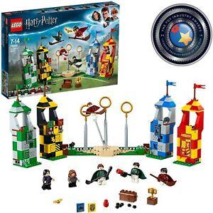 LEGO HARRY POTTER PARTITA DI QUIDDITCH 75956 SET COSTRUZIONI 4 TORRI 7+