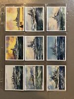 1939 British Naval Craft Complete Players Tobacco Card Set 25 cards collection