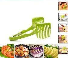 Home Kitchen Hand-held Lemon Onion Tomato Fruit Slicer Chopper Cutter Food Clips