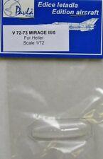 Pavla 1/72 Mirage III/5 canopy # V72073