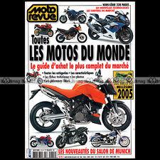 MOTO REVUE HS 410 HORS-SERIE ★ GUIDE D'ACHAT SPECIAL SALON 2005 ★ 500 Modèles !