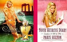 Paris Hilton Perfume Siren + Your Heiress Diary 2005 Mint Movie TV Photo Book