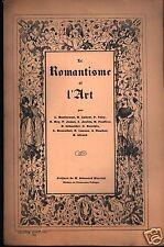 Le Romantisme et l'art, Hautecoeur, Aubert, Vitry