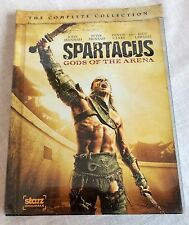 Spartacus Gods of the Arena The Complete Collection DVD 2011 2-Disc Set