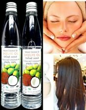 2 Coconut oil extra virgin cold pressed natural for skin hair spa massage 107 ml