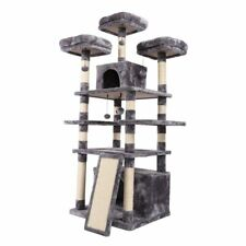 Cat Tree Condo For Large Cats Furniture Scratch Jumping Toy 182CM High