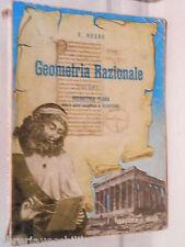 ELEMENTI DI GEOMETRIA RAZIONALE Ugo Russo Federico e Ardia 1963 Volume Secondo