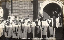 ? Weymouth. Opening of New Church, Chickerell Road.