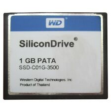 SiliconDrive 1GB PATA CF Industrial Temp WD SSD-C01G-3500