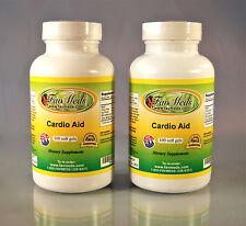 Cardio Aid,  High Quality cardiovascular aid, Made in USA- 200 (2x100) soft gels