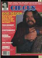 Circus May 1980 Bob Seger Ted Nugent Pretenders MBX28