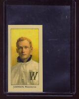Walter Johnson, Washington Senators Monarch Corona T206 Centennial reprint #1