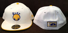 Warriors New Era 59FIFTY Fitted Hat NBA Hardwood THE CITY Throwback Size 7 5/8