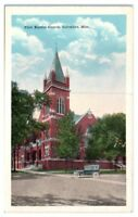 First Baptist Church, Columbus, MS Postcard *203