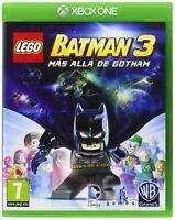 LEGO BATMAN 3 MÁS ALLÁ DE GOTHAM EN CASTELLANO NUEVO PRECINTADO XBOX ONE
