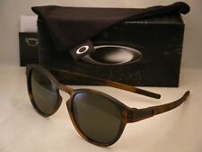 bf4022feb Oakley Latch Matte Brown Tortoise w Dark Grey Lens NEW Sunglasses  (oo9265-02)