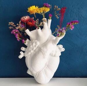 Nordic Style Heart Shape Flower Planter-hanging Vase-glass Home Garden Decorate