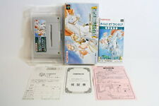 Tales of Phantasia Boxed Warranty Card SFC Super Famicom Japan Import US Seller