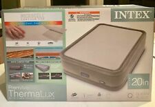 "INTEX QUEEN 20"" PREMAIRE THERMALUX AIRBED MATTRESS WITH DIGITAL BUILT-IN COMFORT"
