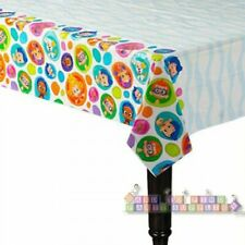 BUBBLE GUPPIES PLASTIC TABLE COVER (1ct) ~ Birthday Party Supplies NickJr Decor