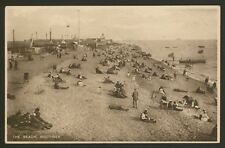 "Hampshire. Portsmouth. Southsea Beach - Vintage ""Daily News"" Printed Postcard"