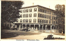 Williamstown MA Greylock Inn in 1912 published by John Navin RPPC Postcard