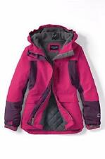 LANDS' END Girls' 2T Raspberry Sorbet Waterproof Squall® Parka or Coat NWT