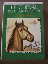 Enid Blyton: Le Cheval du Clan des Sept / Hachette Bibliothèque Rose, 1965