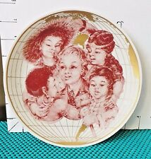 "International Year of The Child, Child's Rights Plate, Shenango China, 1979, 8"""