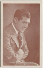 Hobart Henley 1920s Divided Back Postcard - Brown Exhibit Arcade Card Style