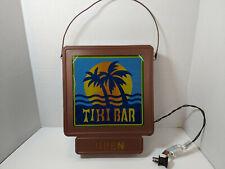 Tiki Bar Open Sign Metal Lights 10x12in [Used]