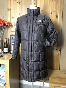 672  Ladies - The North Face - 600 Goose Down Puffer Long Parka Jacket large 14