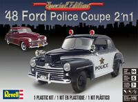 Revell 4318 1:25th scale Special Edition 48 Ford Coupe 2in1 Police / stock build