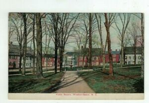 NC Winston-Salem North Carolina antique post card - Public Square