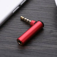 HD_ FT- KF_ 3.5mm Male to Female Right Angle Headphone Audio Adapter Connector P