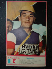 cyclisme carte  MASTROTTO Raymond   Ph.  MIROIR SPRINT  1960   Drapeau Palmarès
