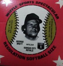 Vintage 1970's King Size Wiffle Ball Box - George Brett