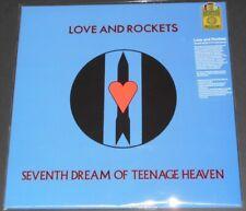 LOVE AND ROCKETS seventh dream USA LP new BLUE VINYL limited #1065/1500 bauhaus