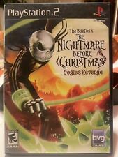 Tim Burton's Nightmare Before Christmas: Oogie's Revenge (Playstation 2, PS2)