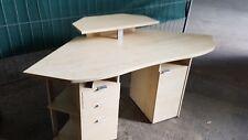 Eck Schreibtisch Computer Tisch Birke Dekor Büro Jugend Zimmer PC