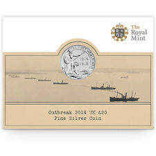 The Royal Mint Outbreak 2014 UK £20 Fine Silver Coin –UK1420FW