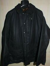 barbour beaufort jacket waxed cotton blu  giacca + trapunta  c44-112 xl